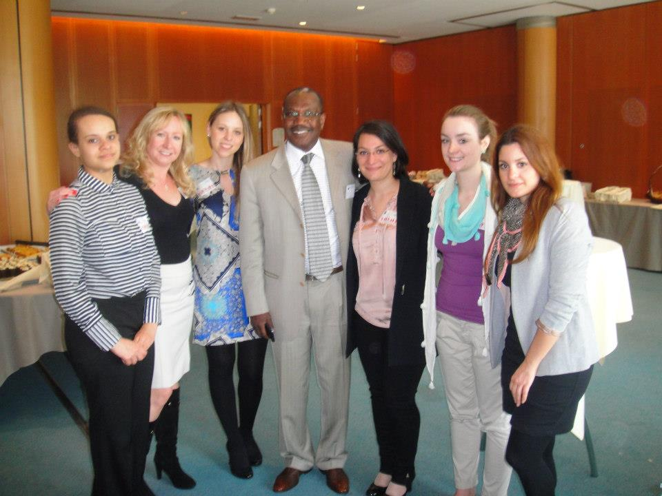 g4g Team with our new friend  Dr. Touré, United Nations ITU Secretary Genera