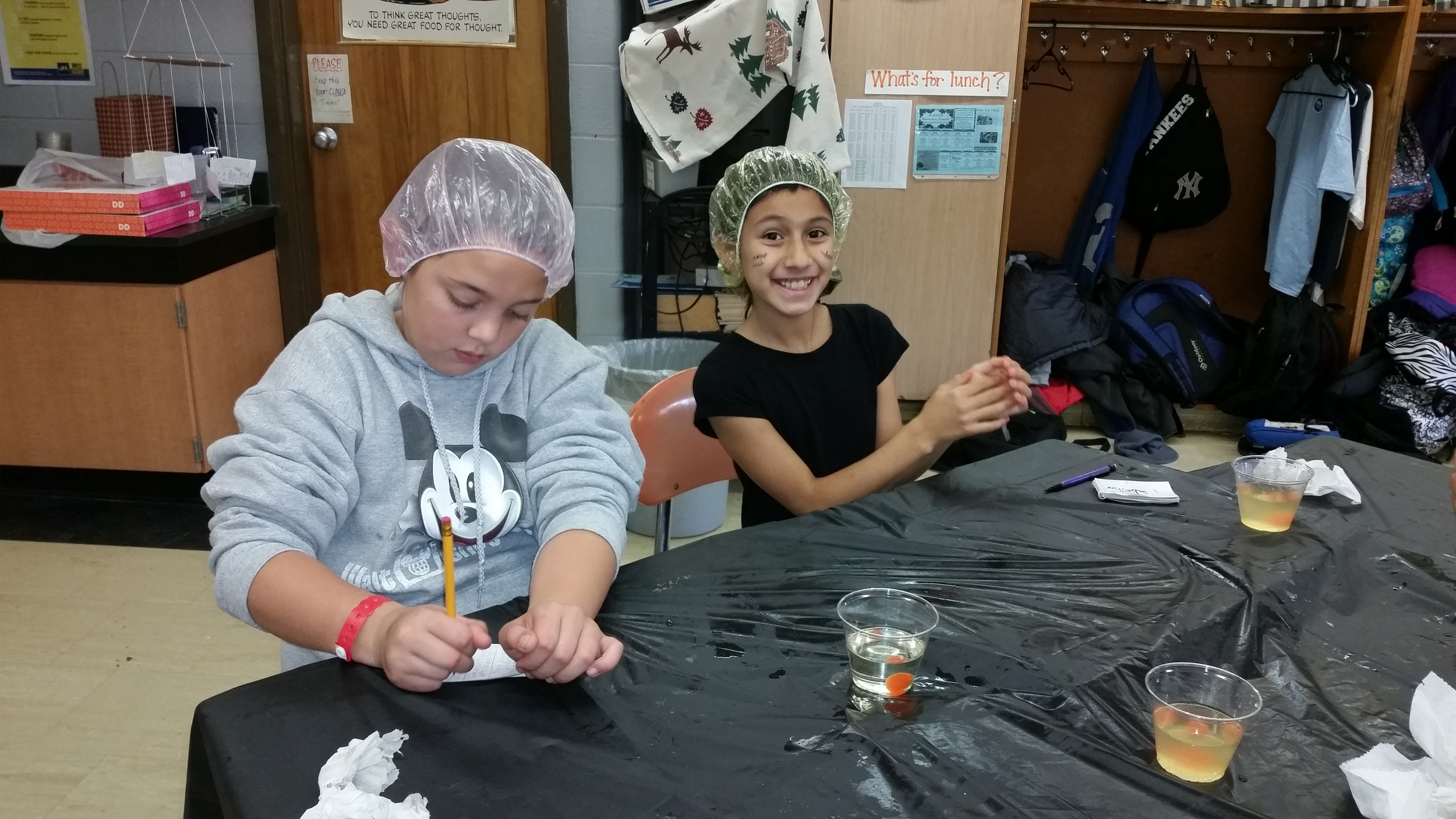 """g4g Day@New York 2014 – Launch with """"Trick-or-treat for Science""""!- It could get very messy..."""