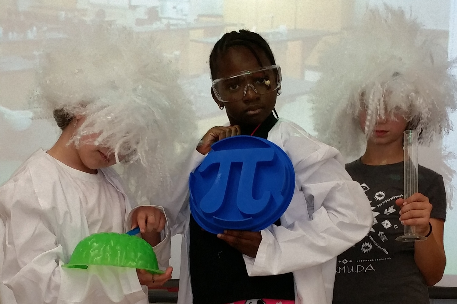 "g4g Day@New York 2014 – Launch with ""Trick-or-treat for Science""- Photobooth with pi!"