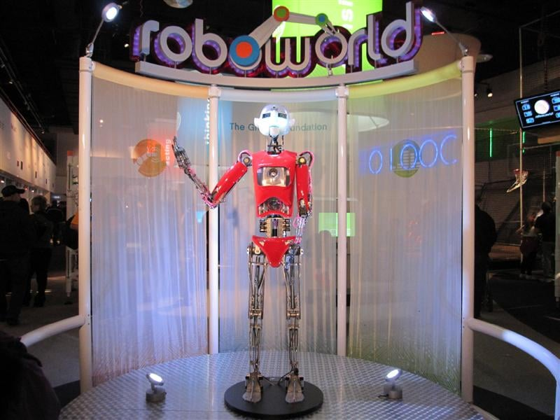 Carnegie Science Center  hosts the world's largest robotics exhibition in the world!