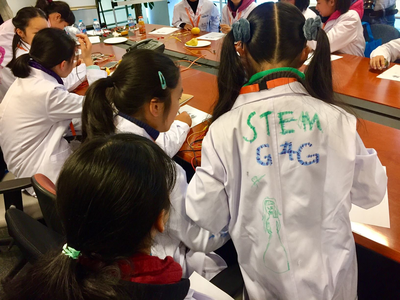 Launch g4g Day @Shangai - Dec. 2017    In December Nokia & g4g had a successful launch in Shangai, giving a 120 girls the opportunity to discover Nokias technology and innovation.