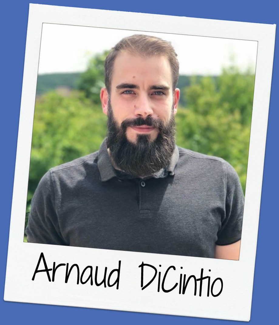 Arnaud is an open-minded French HR apprentice.  He's helping to organize the very first g4g event in France @Damparis with stanley black & decker.  Lastly, he likes to be surprise and surprise others.
