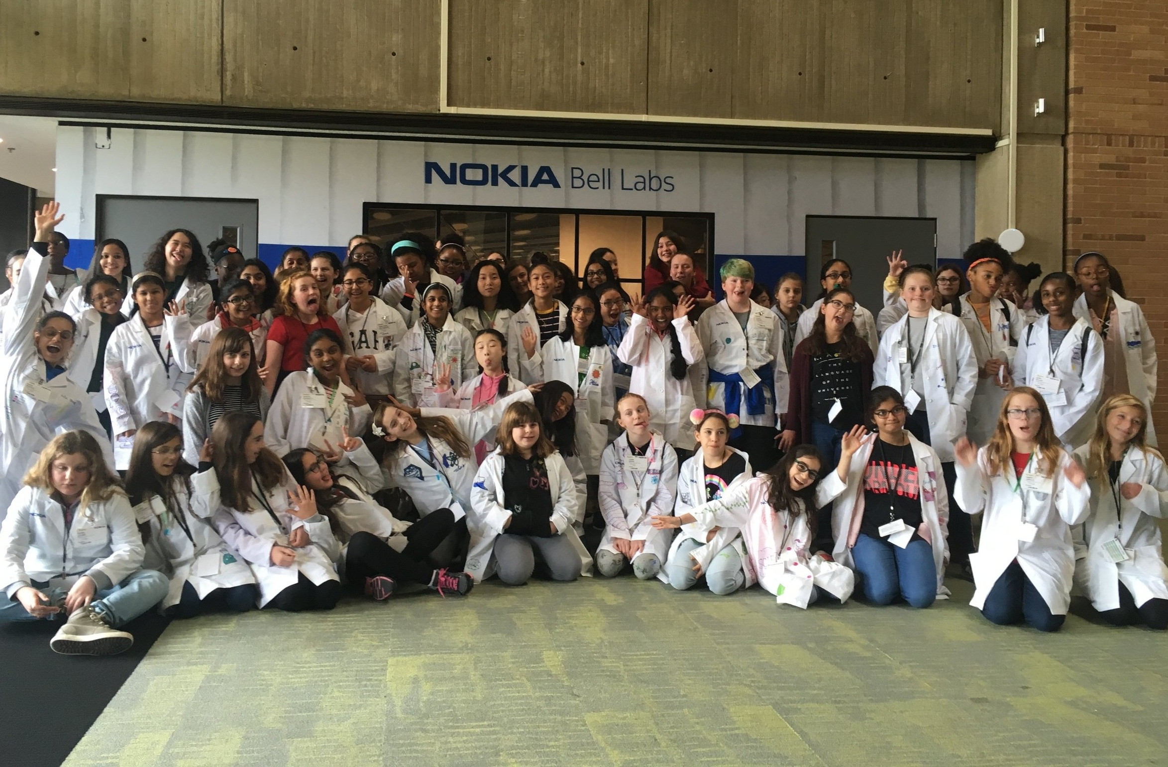 g4g Day @New Jersey - Nov. 2018    In November, we were thrilled to be back for a 2nd g4g Day in New Jersey, to inspire 100 girls for a day of STEM fun at the groundbreaking HQ of Nokia Bell Labs!