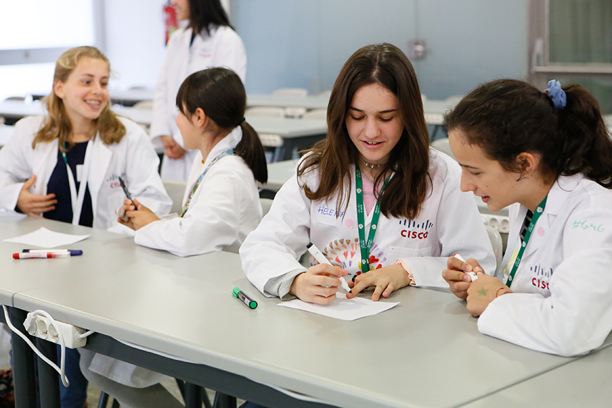 g4g Day @Sevilla - Mar. 2017    Together with Cisco, the City of Sevilla, and the Regional Government of Andalucia, 150-175 girls spent the day at  CREA Innovation Center , discovering the unbelievable fun in Science, Technology, Engineering and Math! Take a look at the photo album of the event here .