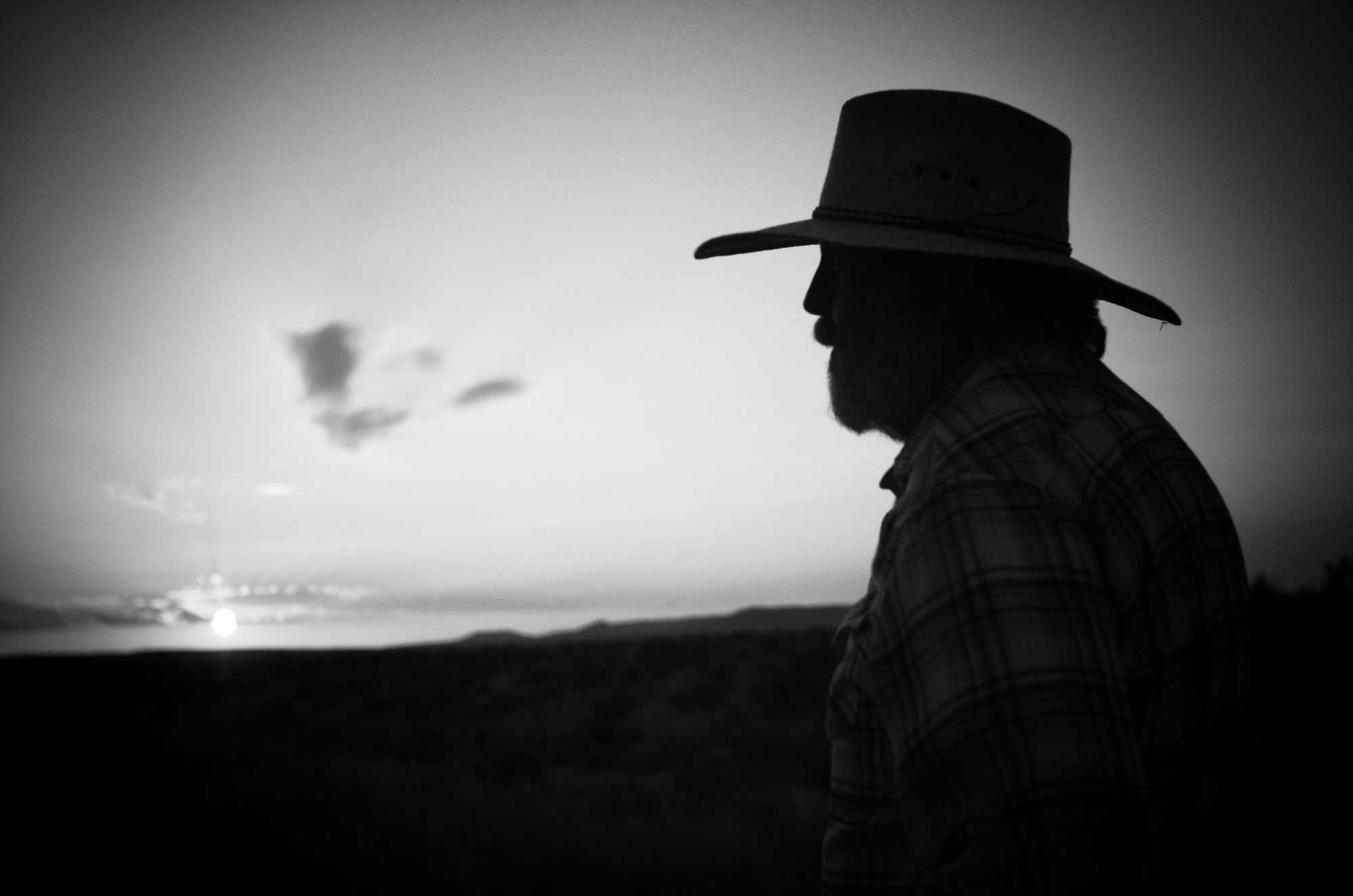 """James Springs is among the 43 ranchers whose land was seized by eminent domain to construct the Trans-Pecos pipeline,""""This country is why a lot of us are here, and why we raised our families here. We have people buried here now. It's one of the last wide open spaces, what people call the final frontier, and it's true. . . If they build one [pipeline], there's an awful good chance there'll be another. Pretty soon they'll be down drilling."""""""