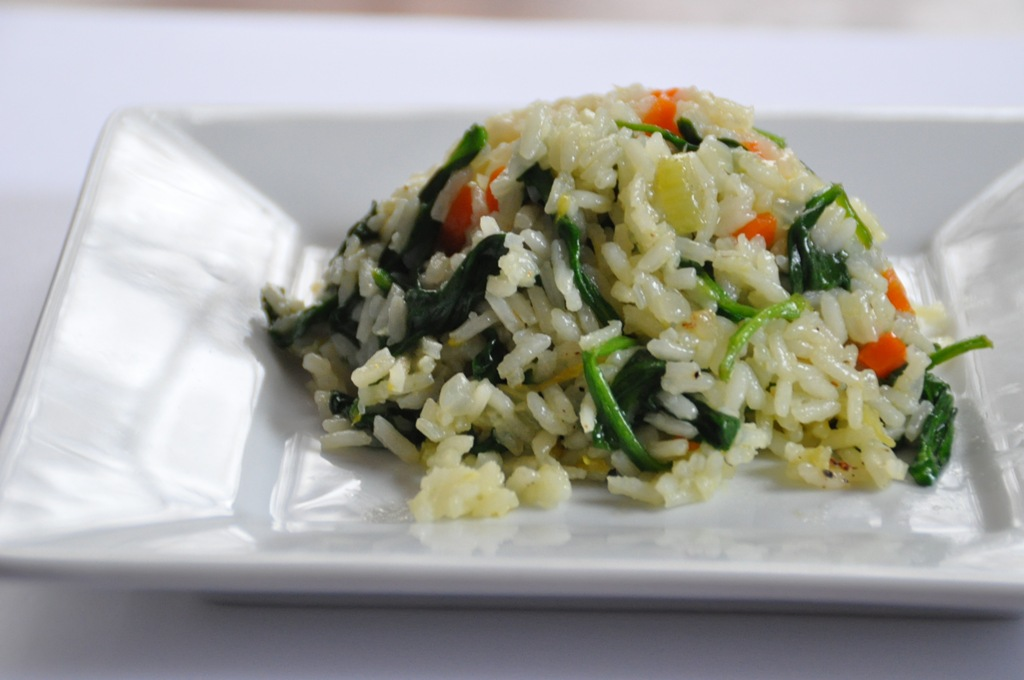 Vegetables & Rice Pilaf
