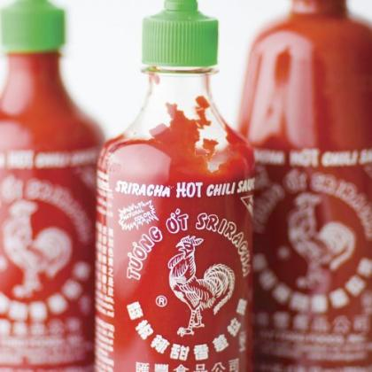 Instantly recognizable & part of pop-culture, Google search Sriracha and you will find everything from shirts to cell phone cases with this recognizable Rooster logo on it.