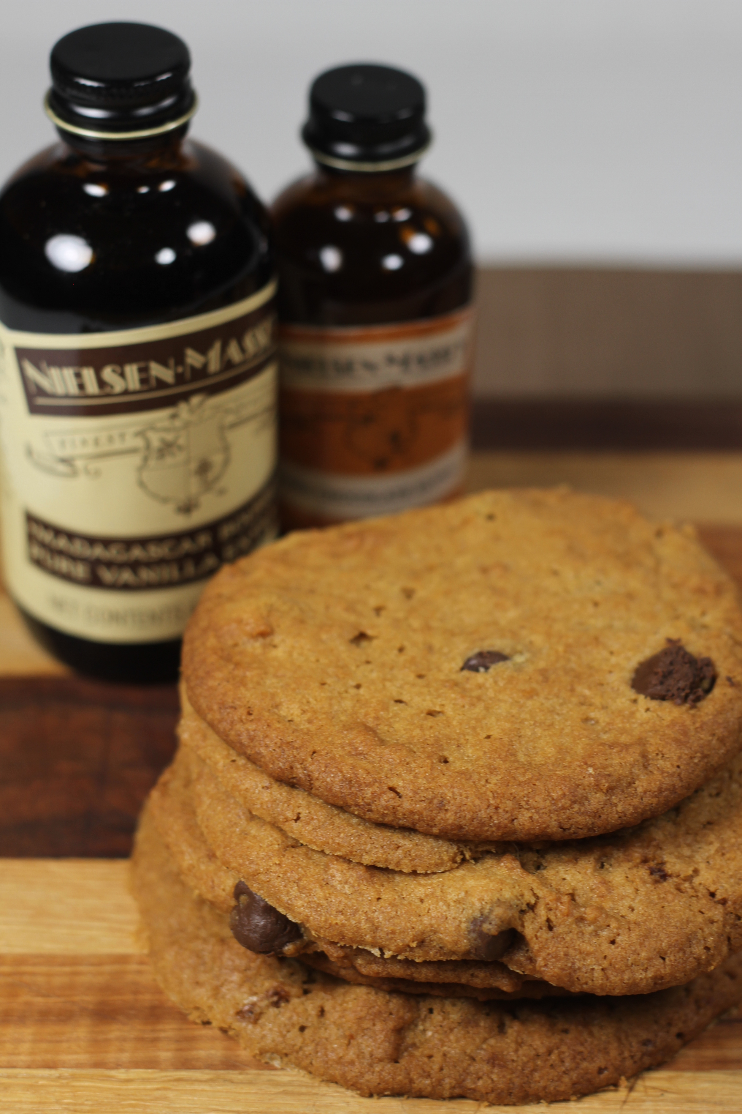 Nielsen-Massey vanilla & chocolate extracts were used.