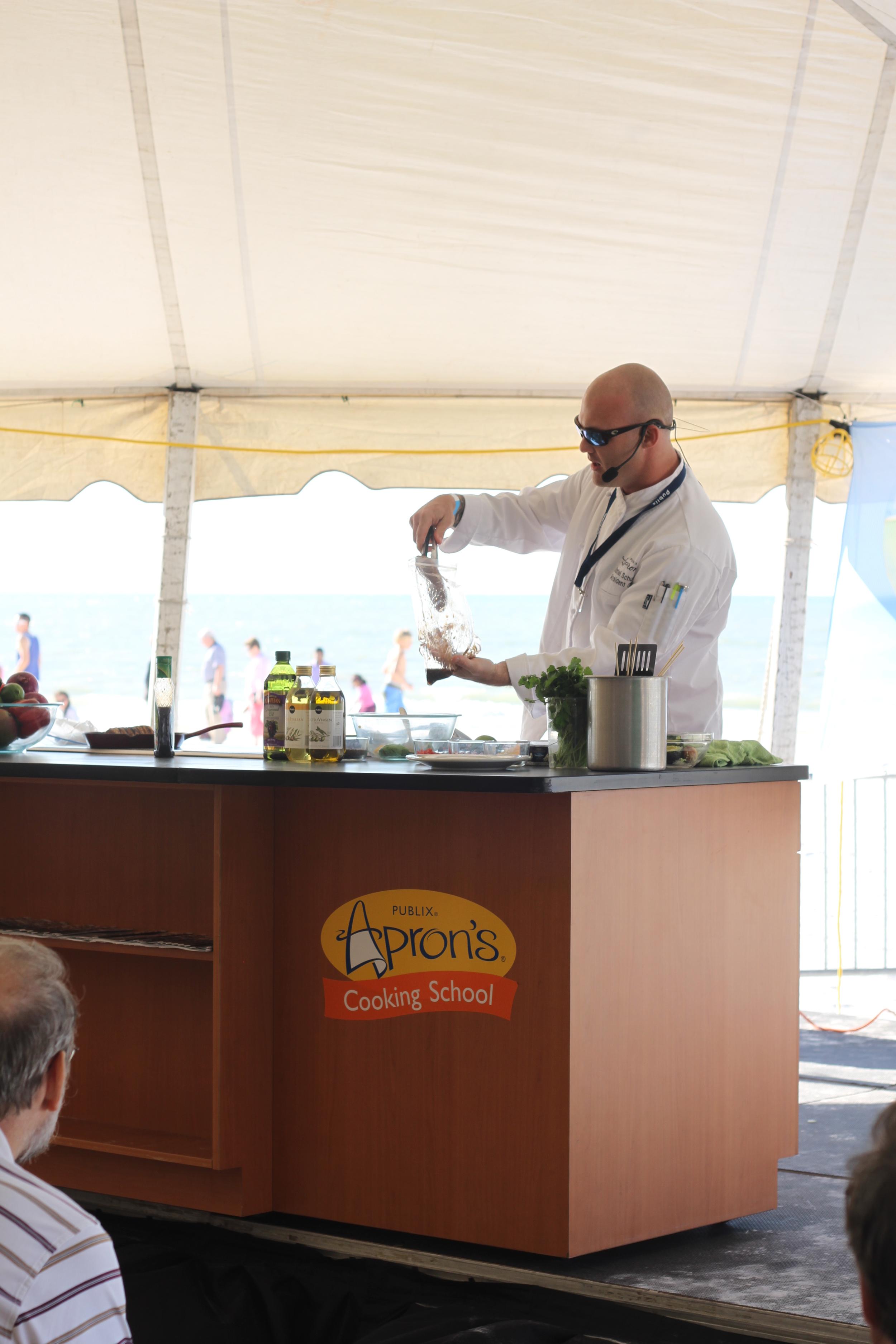 Publix Apron's Live Cooking Demonstrations