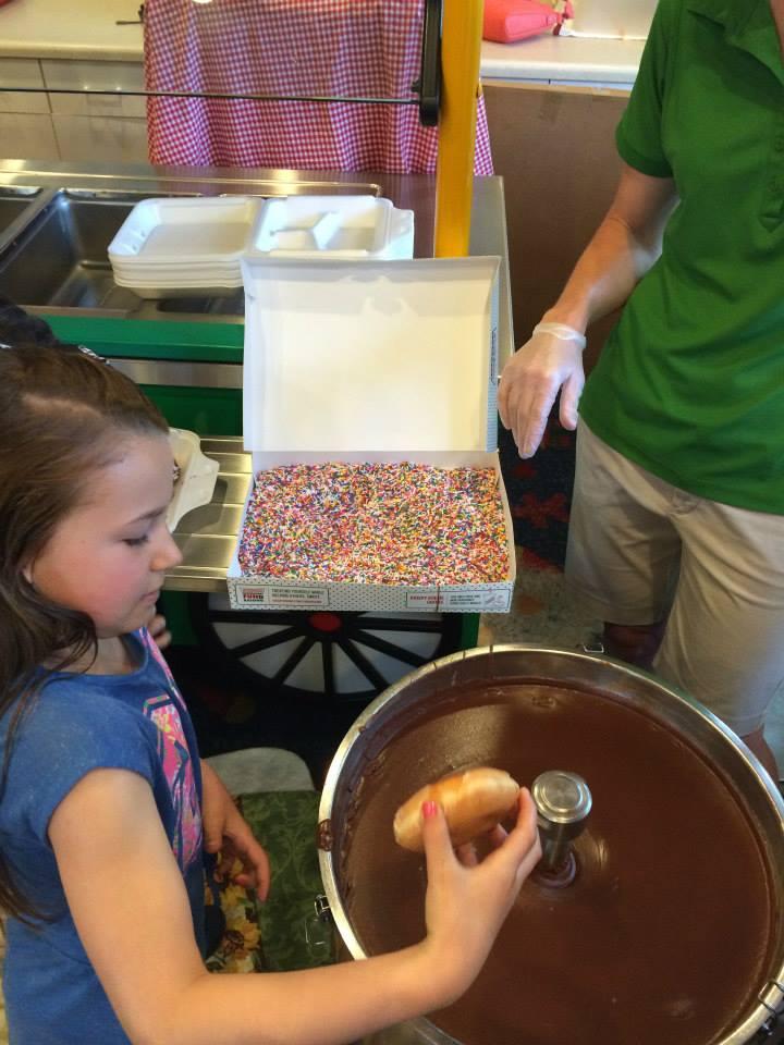 Making Doughnuts at Give Kids the World