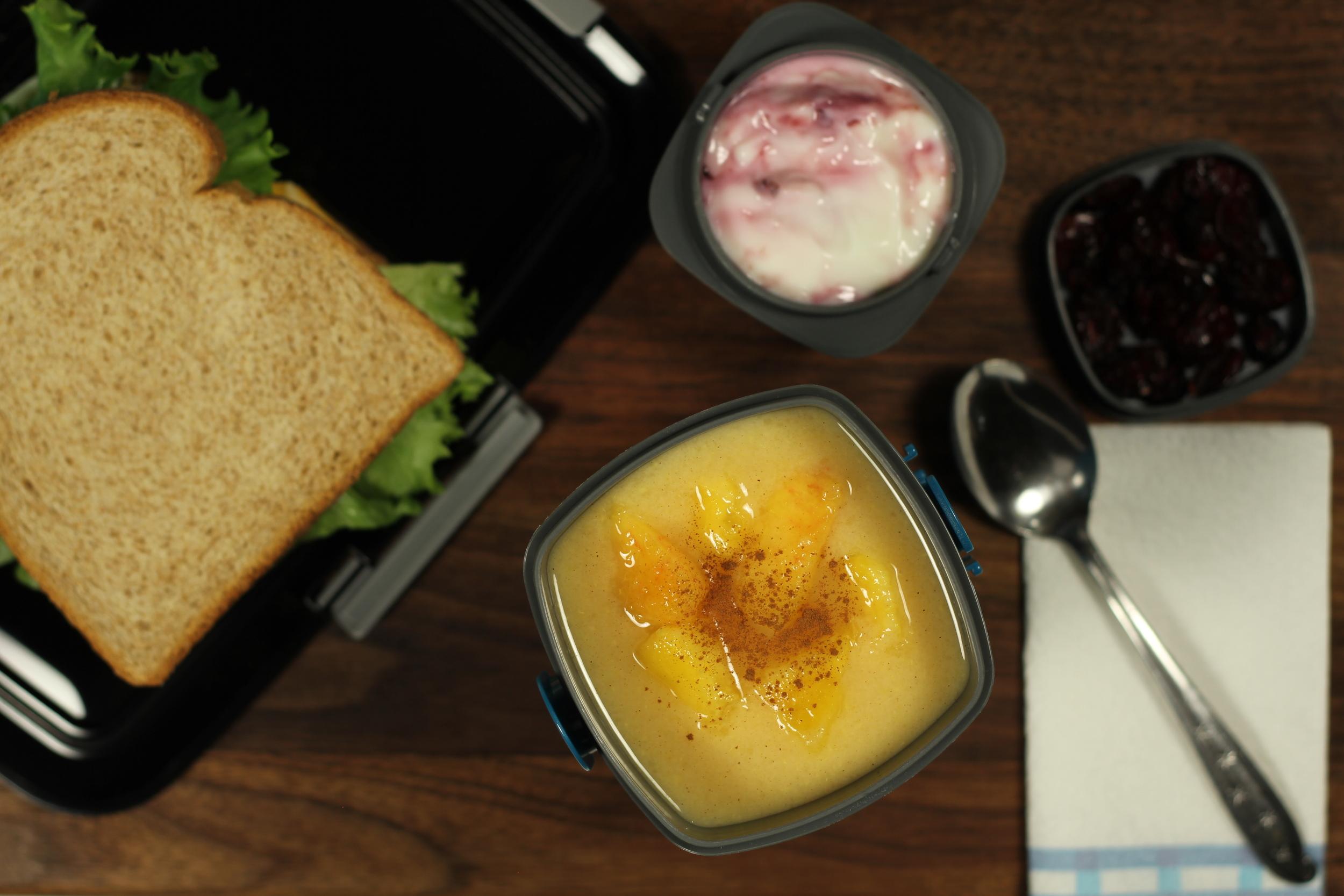A peachy keen lunch!