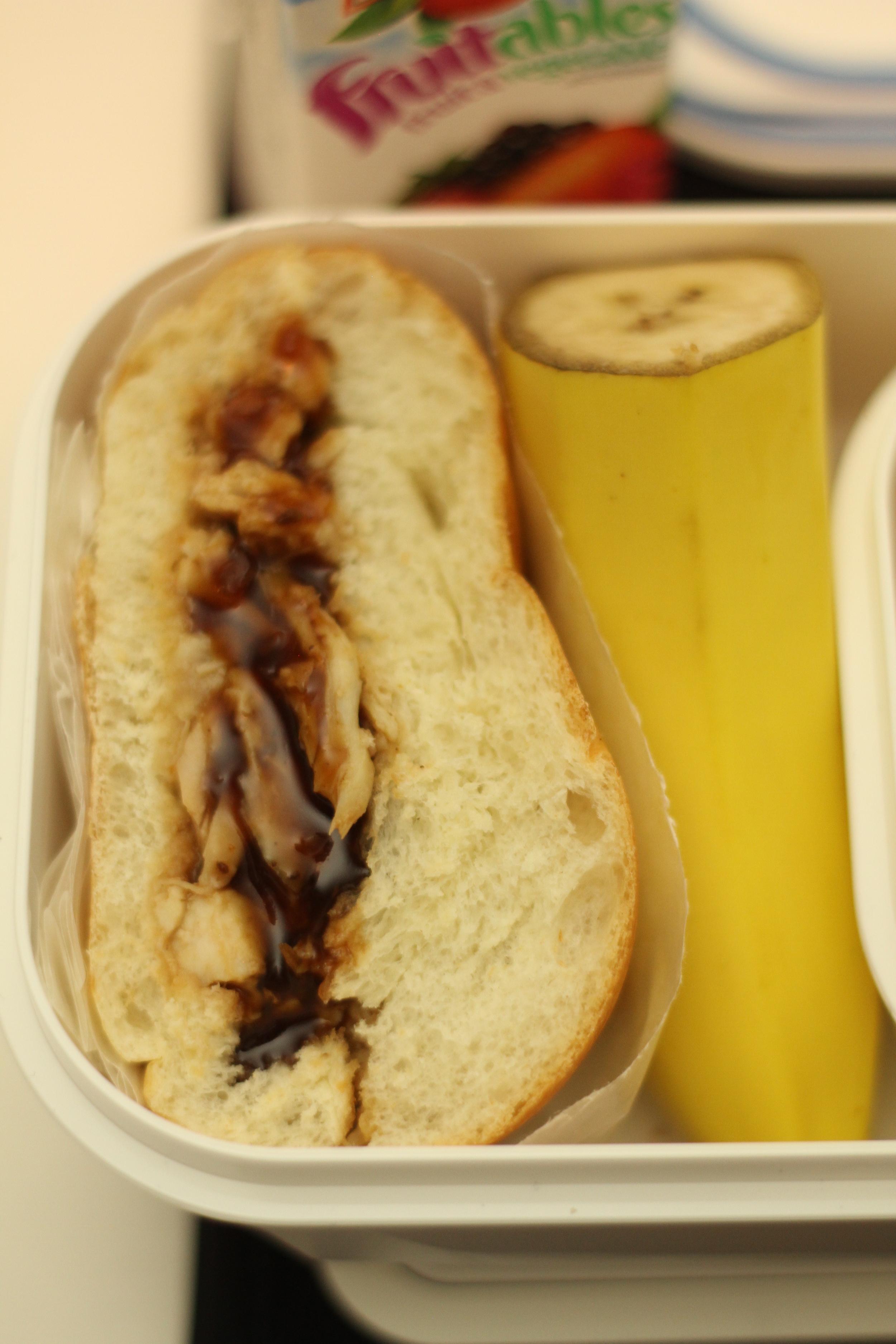 Simple BBQ Chicken Lunch