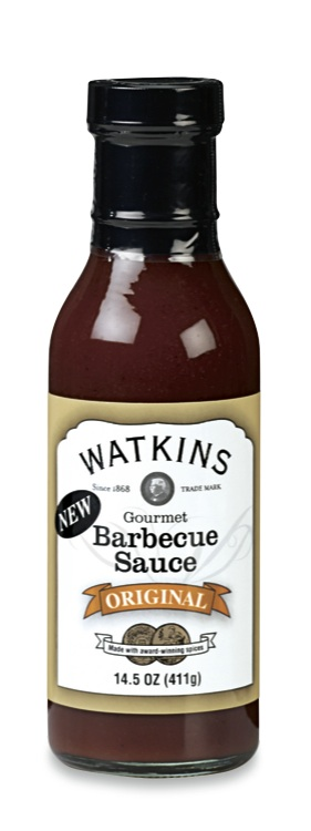 We used  Watkins Original Barbecue Sauce  on our pulled pork sandwiches.