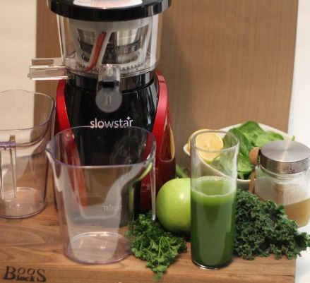 Tribest Slowstar SW-2000 Vertical Slow Juicer and Mincer