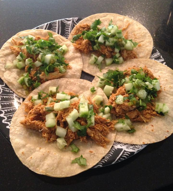 Healthy Chicken Tacos Recipe