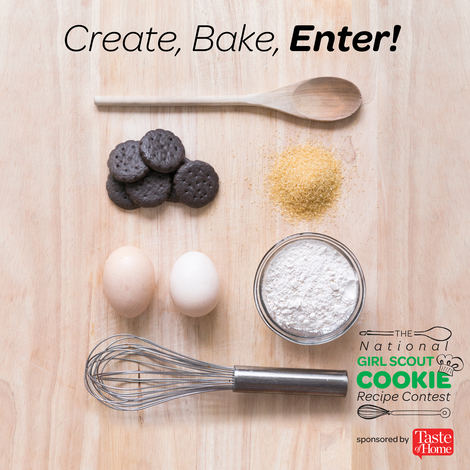 Enter The Girl Scout Cookie Recipe Contest