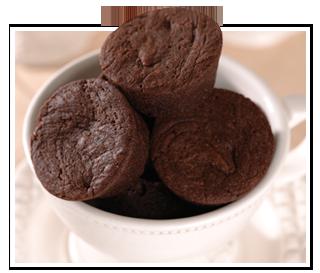 Sugarbowl Bakery's petite brownie bites.