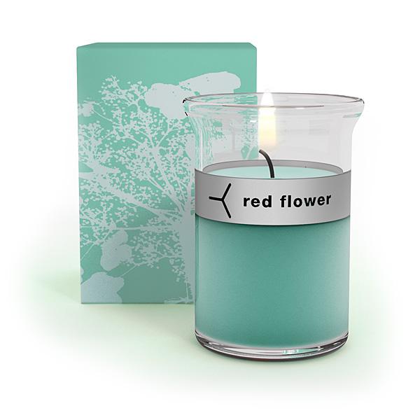 Red Flower 'Ocean'
