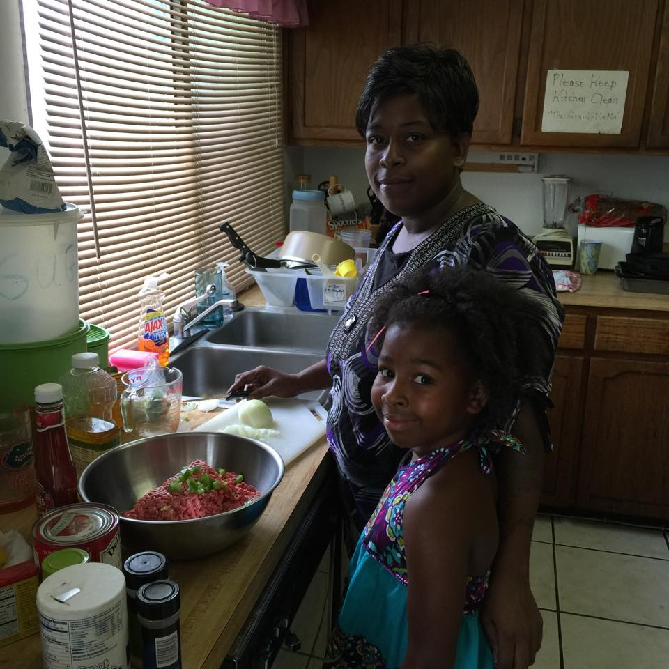 Crystal and her daughter make Home-Style Meatloaf