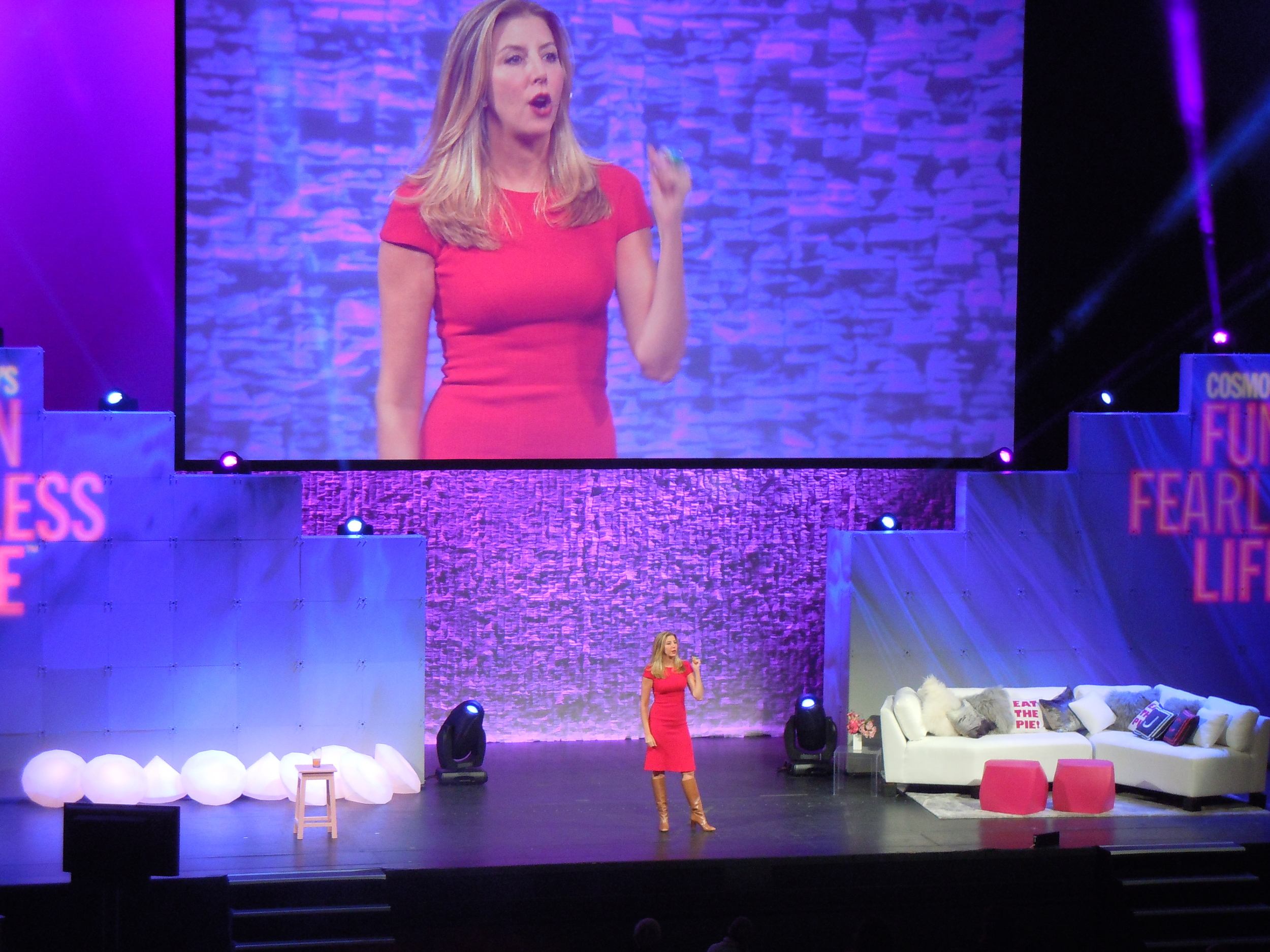 Sara Blakely (founder of Spanx)