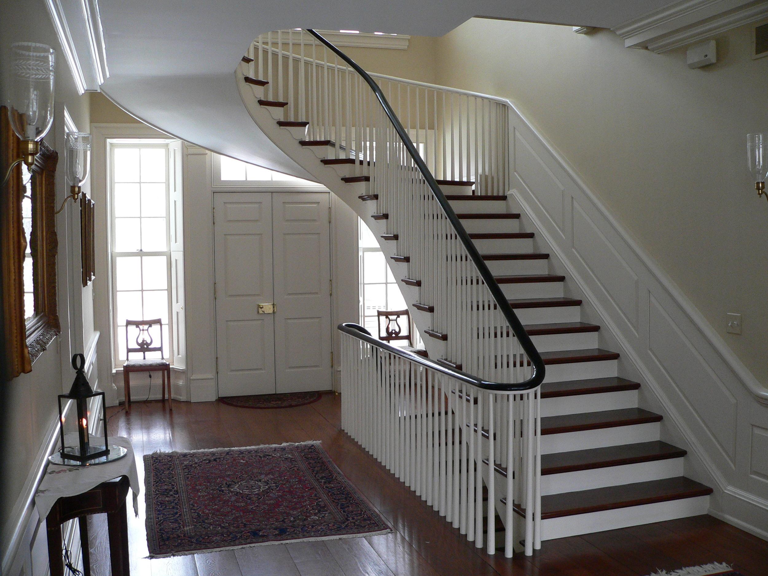 9 Schreiner Main Hall Staircase.JPG