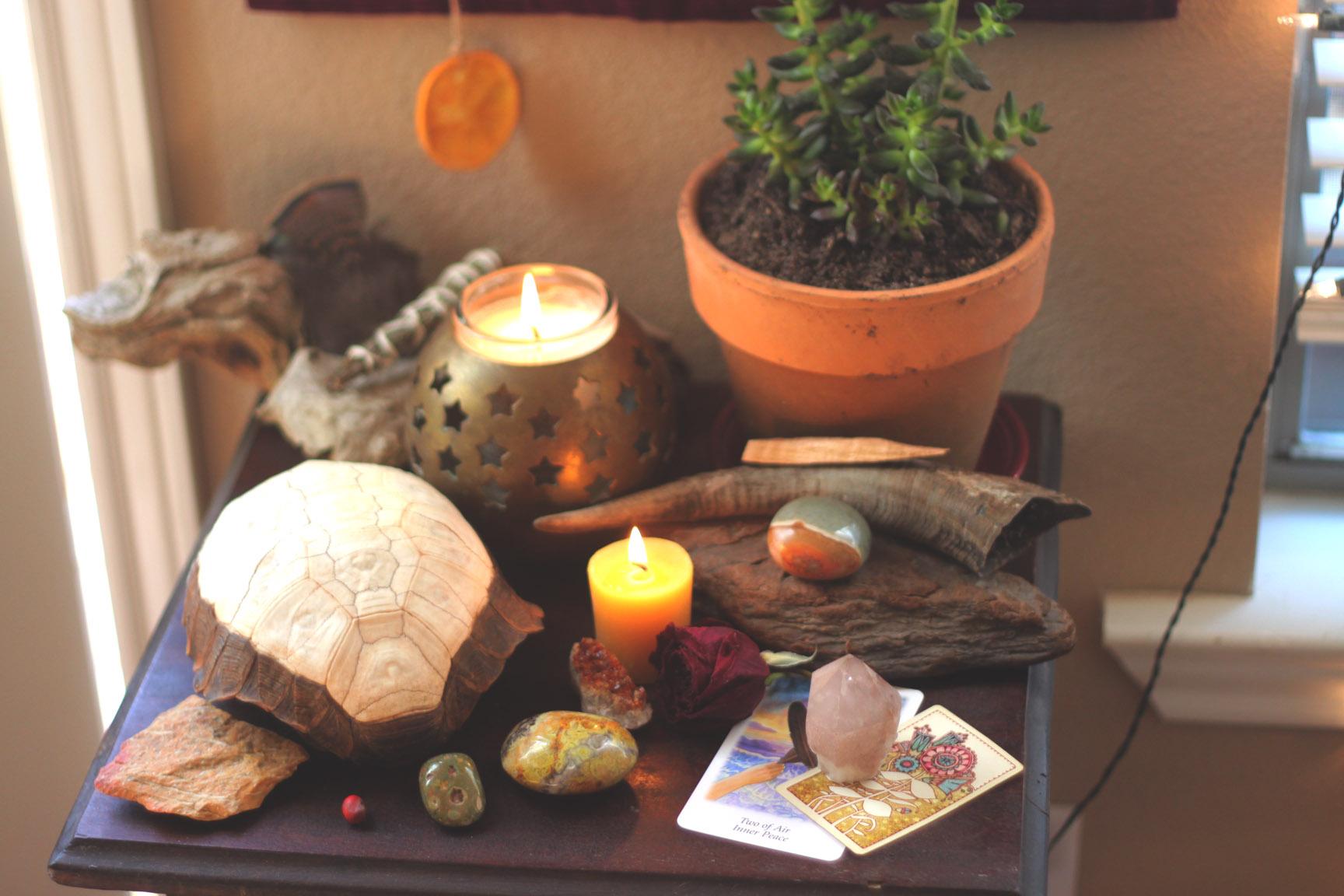New Moon Altar