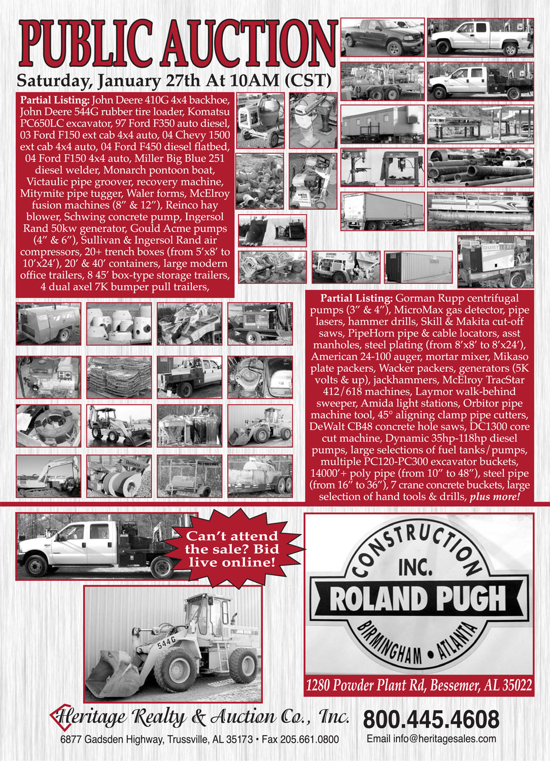 Roland Pugh Construction