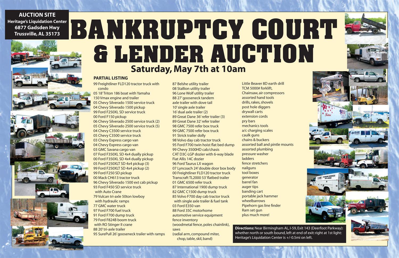 Bankruptcy & Lienholder