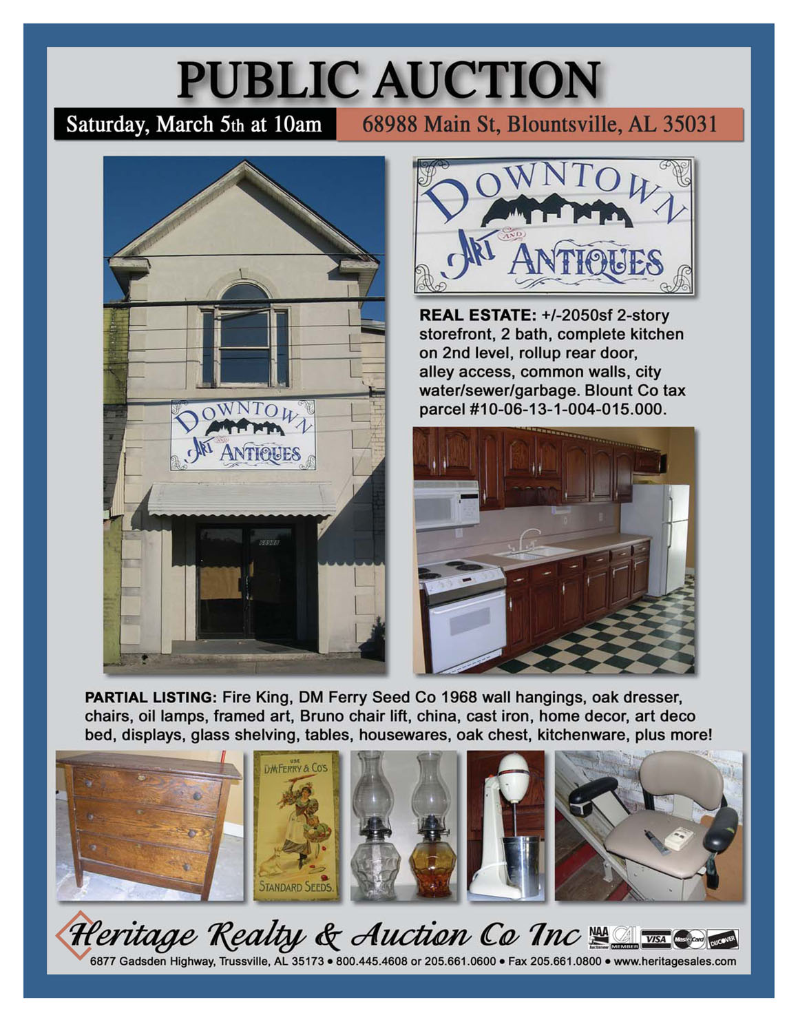 Real Estate & Antiques