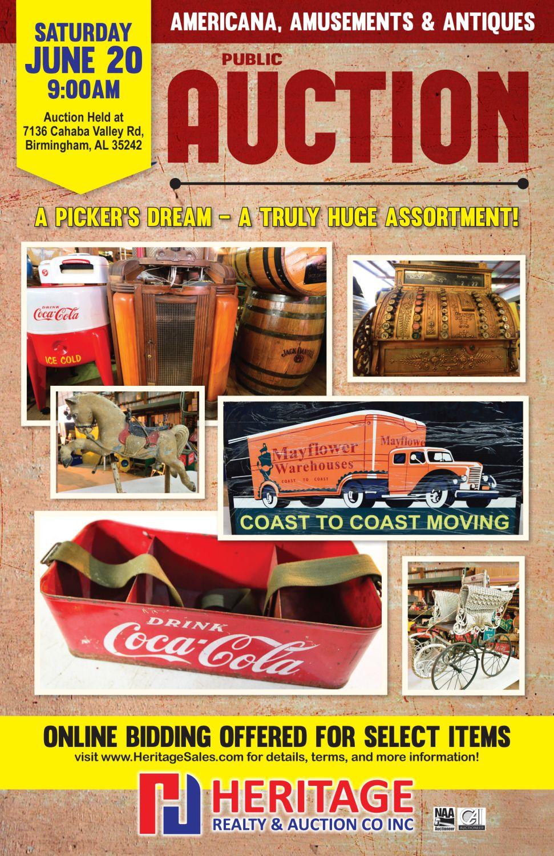 Americana, Amusements & Antiques