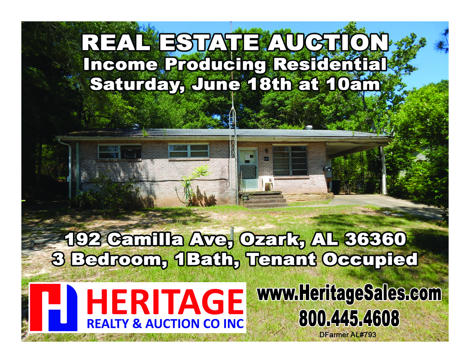 Income Producing Residential