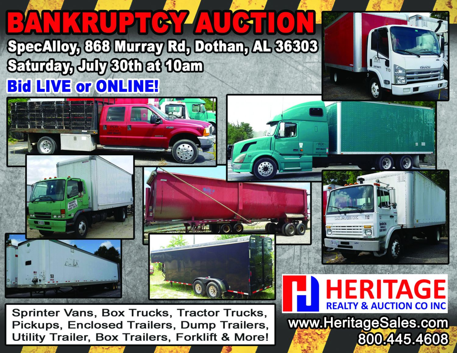 Bankruptcy - Rolling Stock