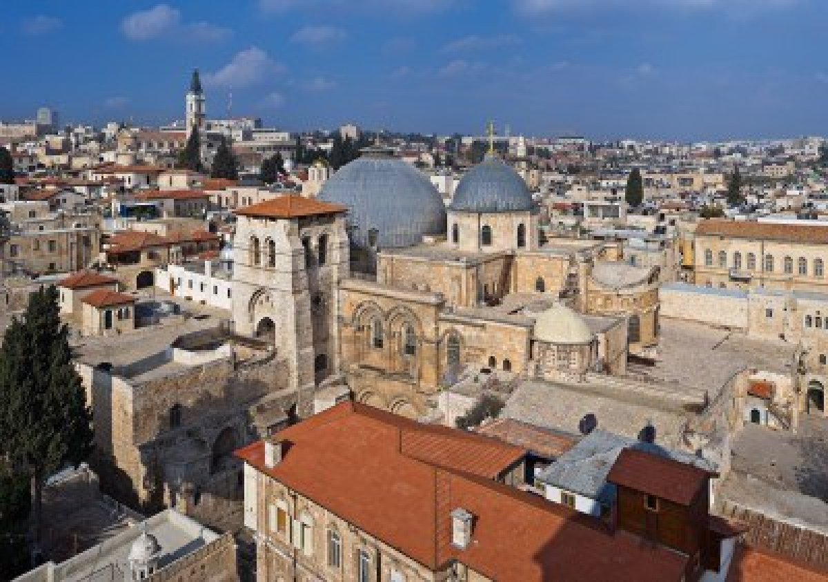 The Church of the Holy Sepulcher in Jerusalem