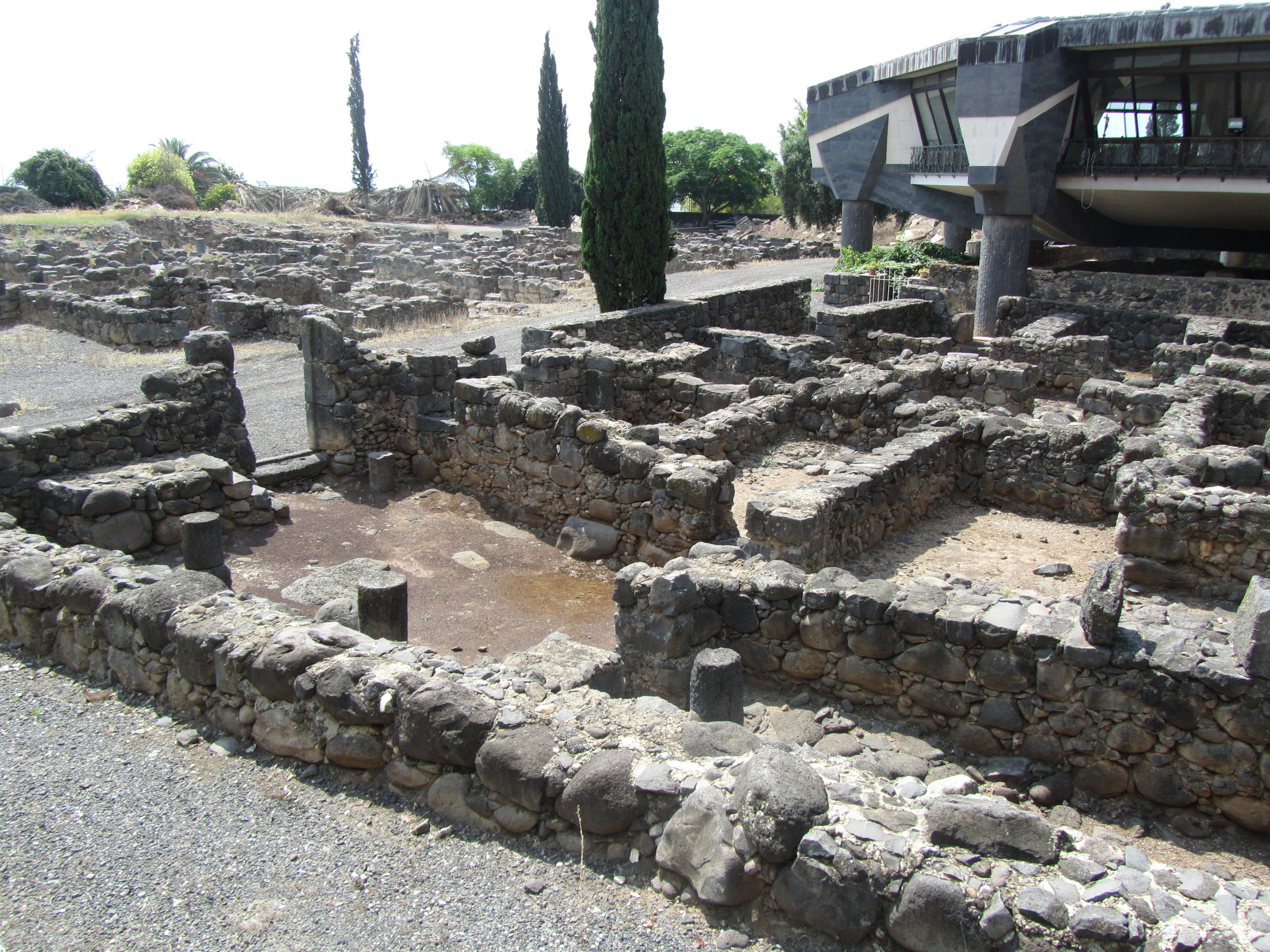 The blocks of extended family homes in Capernaum