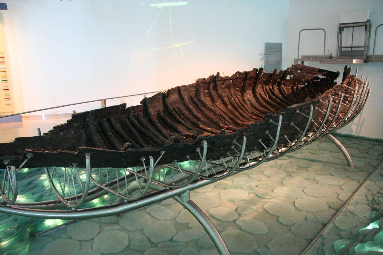 The 2000 year old Galilee Boat