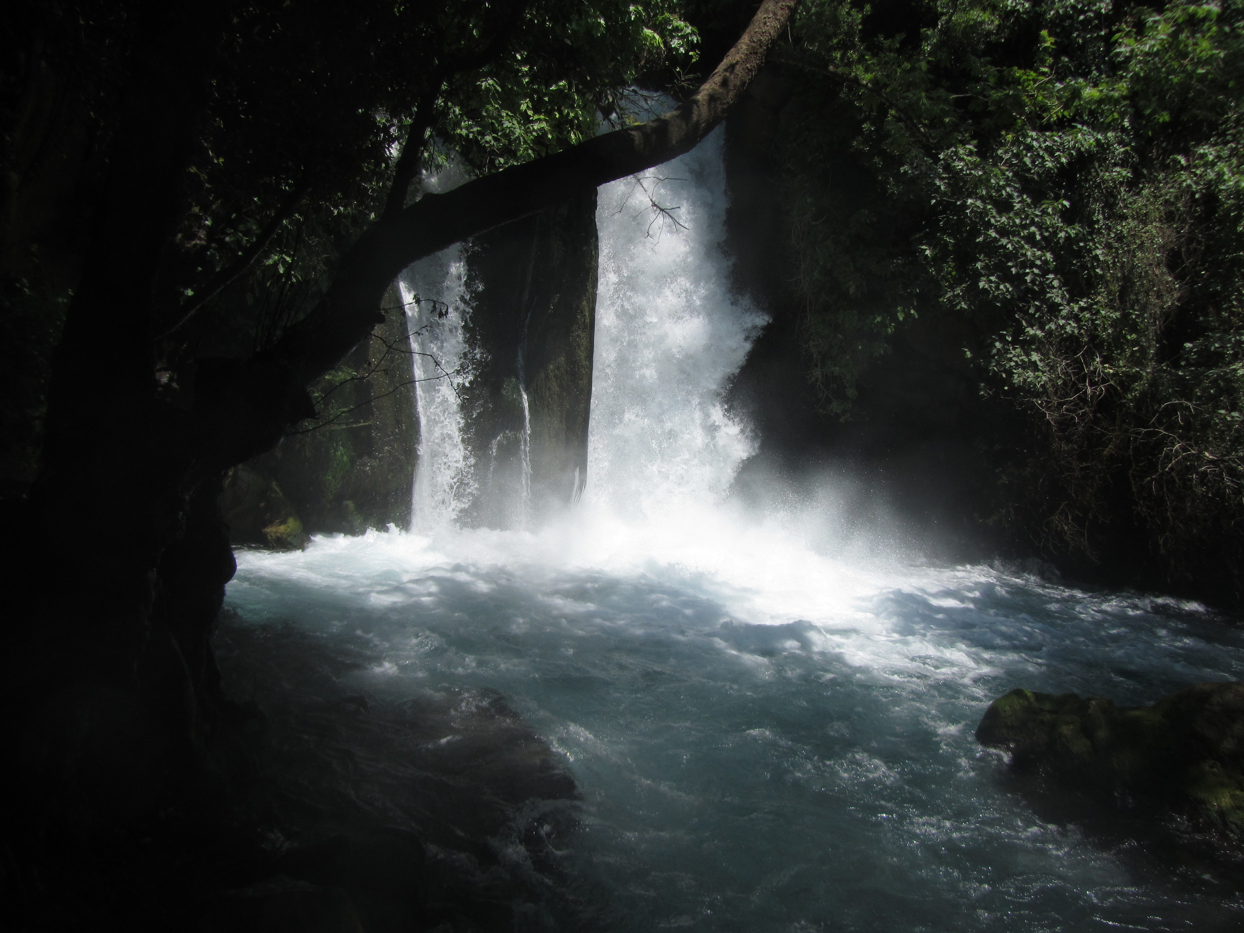 The Banias Waterfalls atCaesareaPhilippi