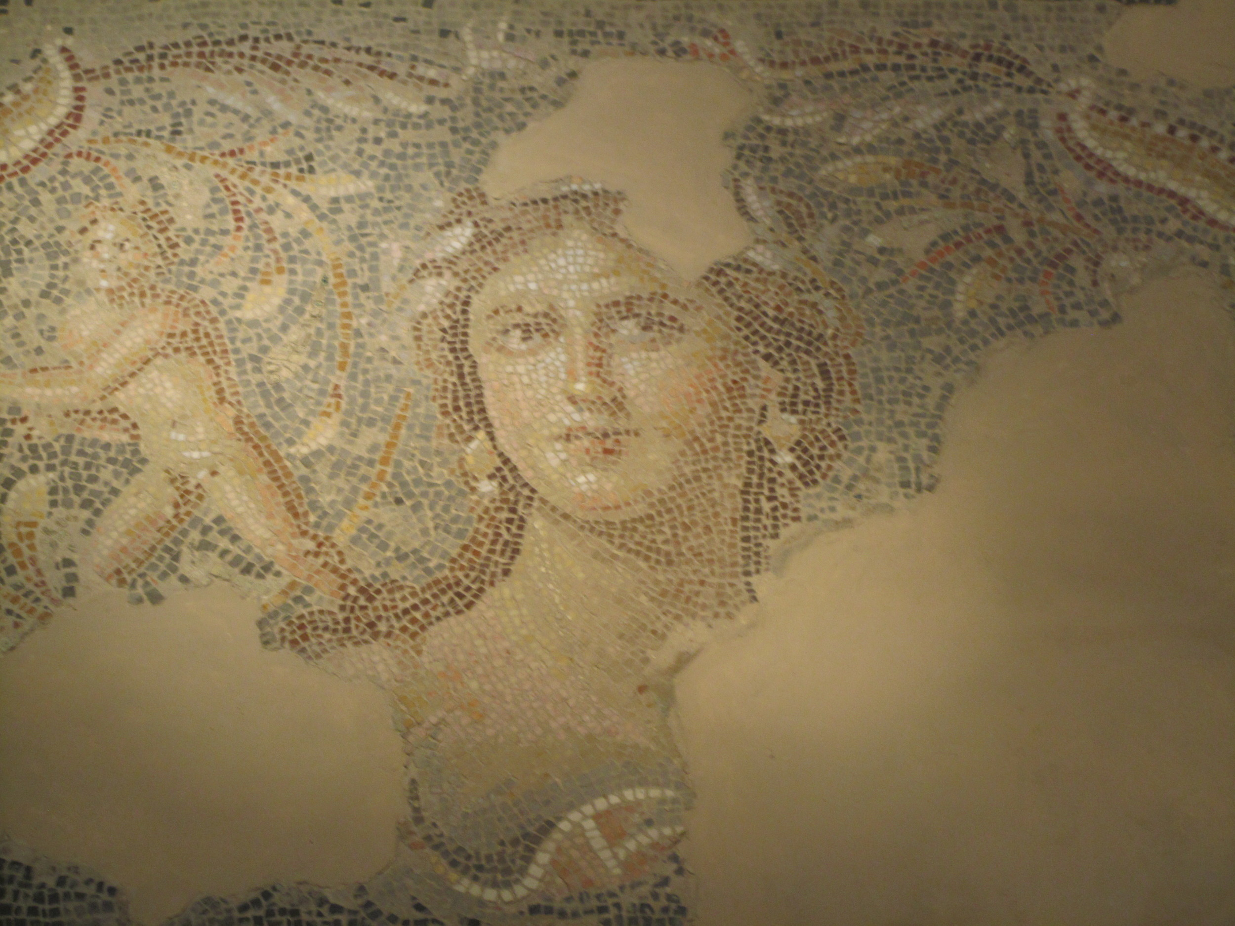 The Mona Lisa of the Galilee mosaic