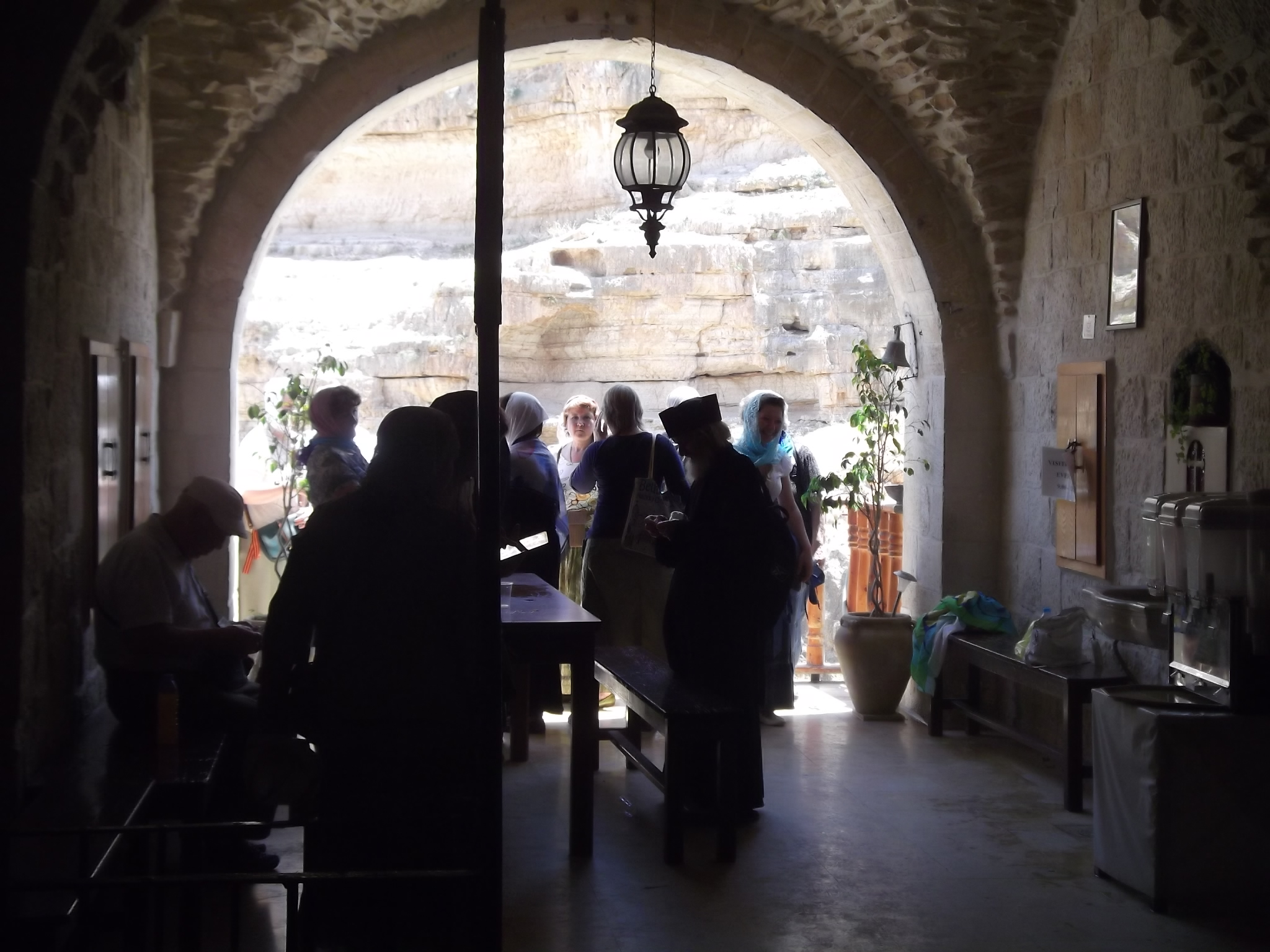Receiving Warm Hospitality from the Monks of Saint George's Monastery