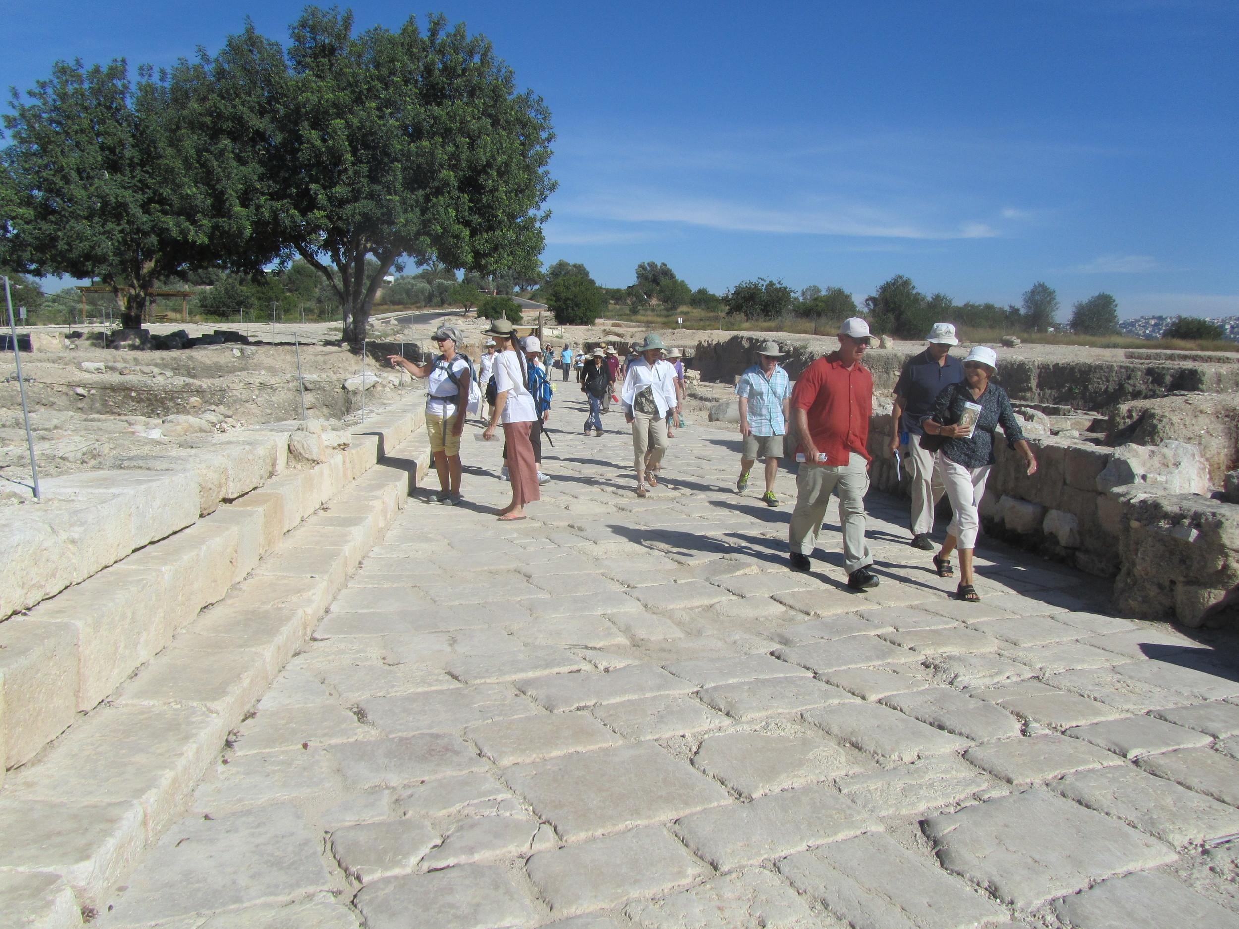 Walking the Ancient Streets of Sepphoris