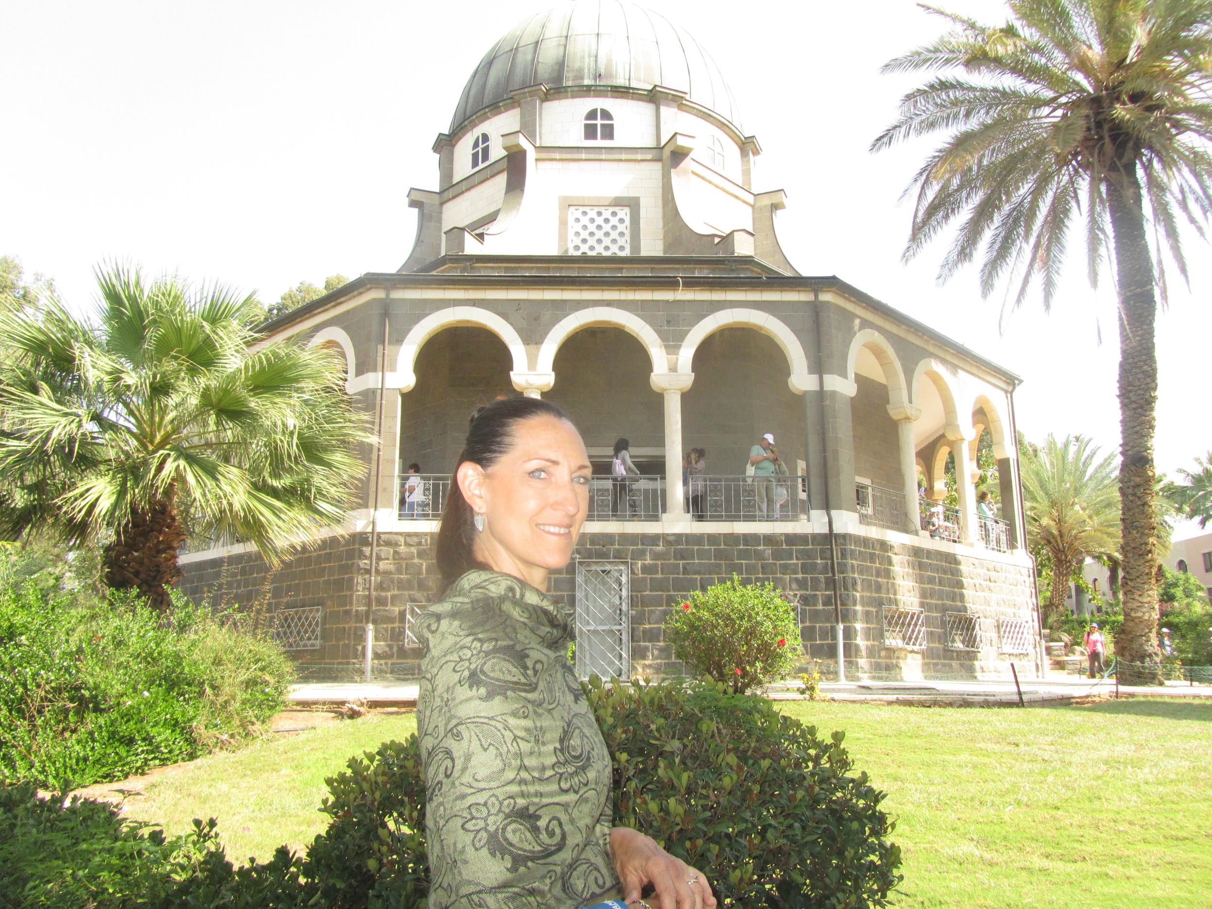 My Beautiful Bride at the Church of the Beatitudes