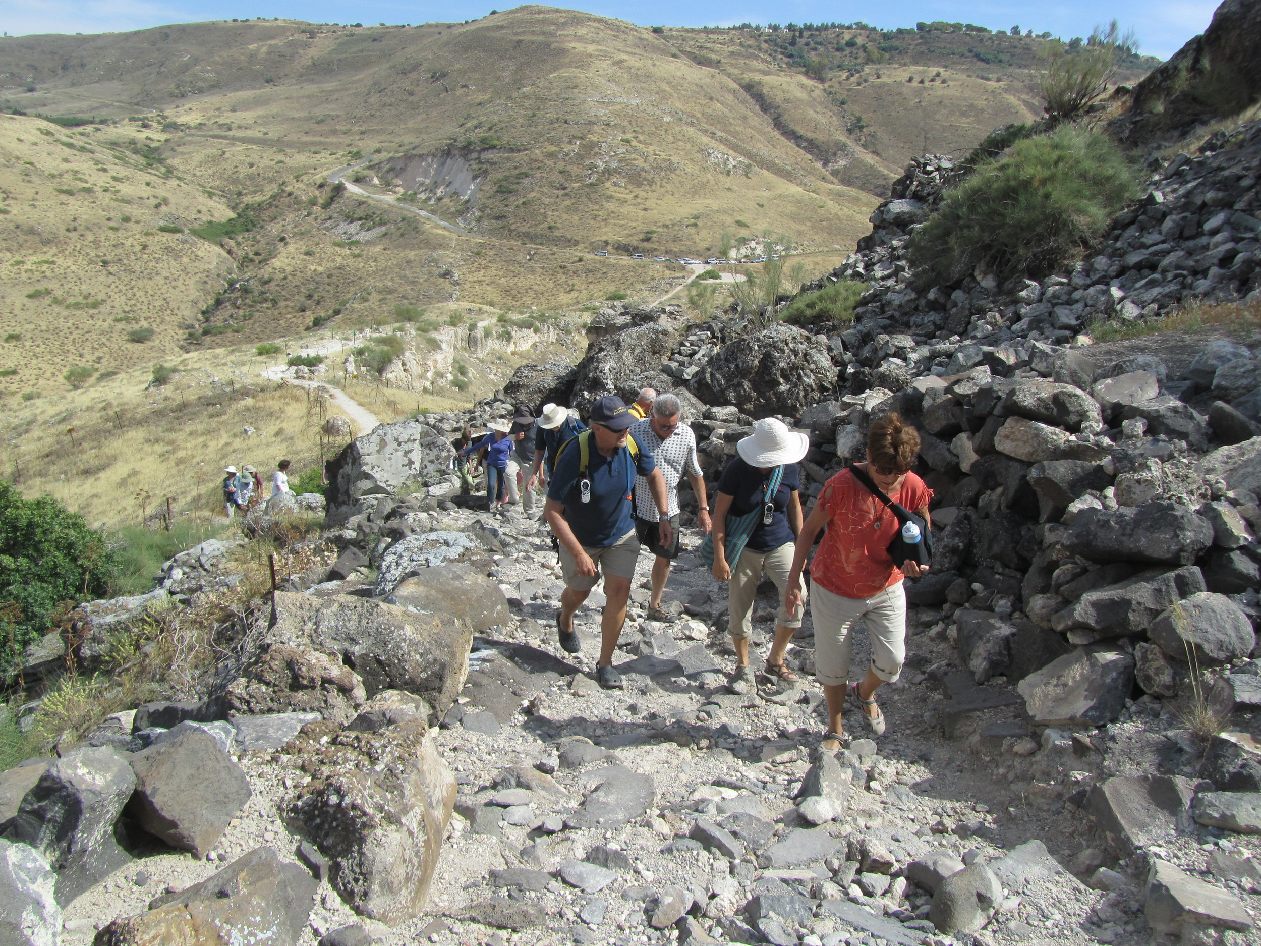 Climbing the Ancient Road to the Decapolis City of Hippos