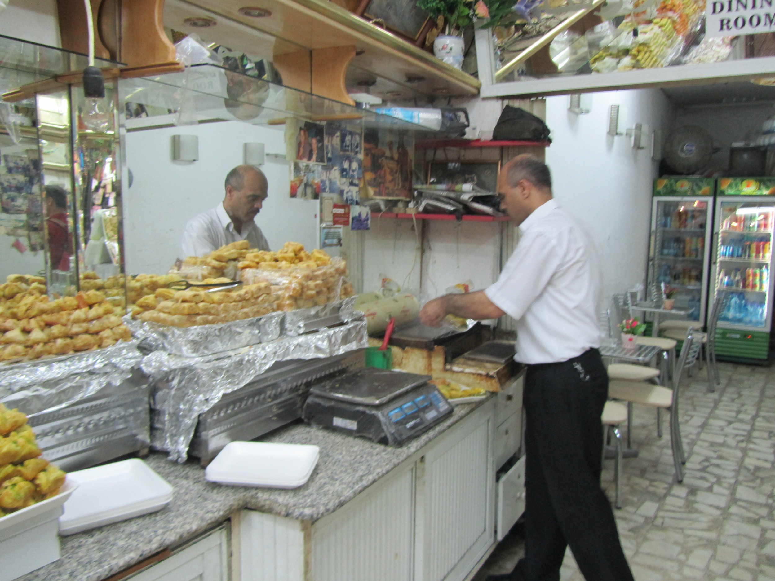 Buying Traditional Middle Eastern Sweets in the Old City