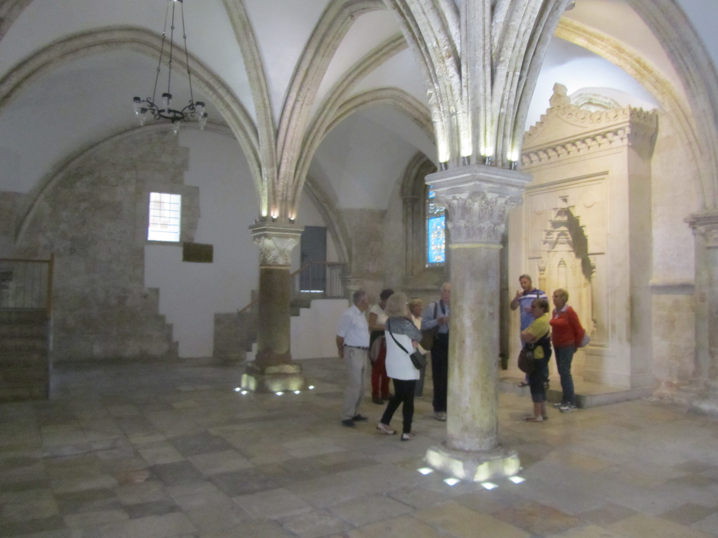 The Upper Room Built Over the Site of Jesus' Last Supper