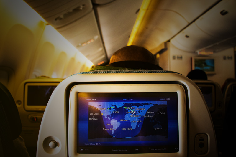 We left LAX on Thursday around 6pm. We arrived in Istanbul, Turkey, around 13 hours later, and immediately boarded our flight to Tel Aviv, Israel. How many movies can you watch in one sitting?