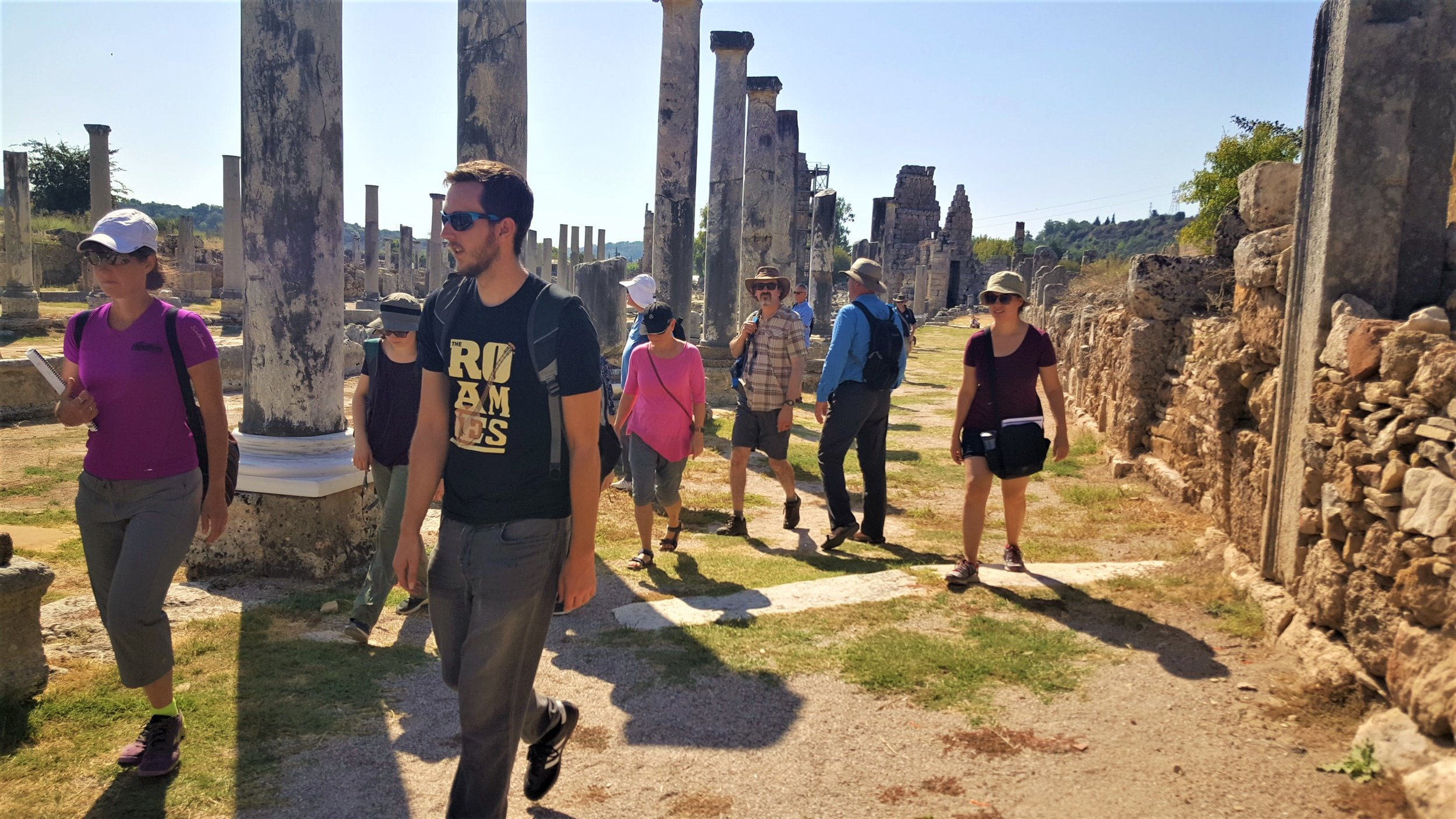 Walking the streets of Roman Perga