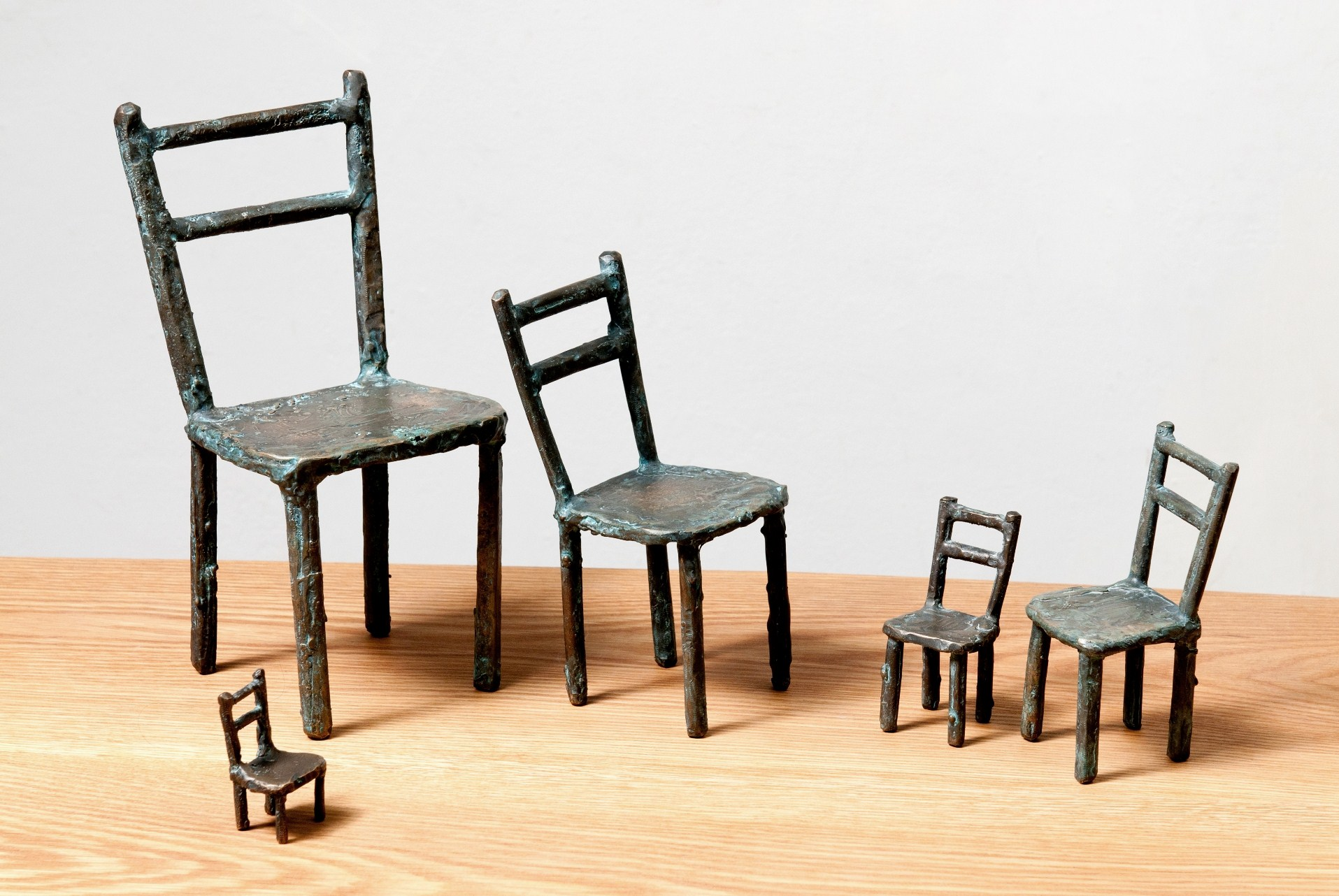 Five Little Chairs
