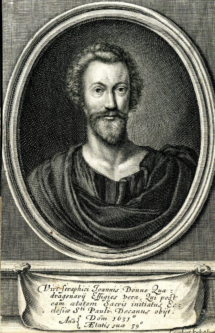 John Donne, photo from The British Museum