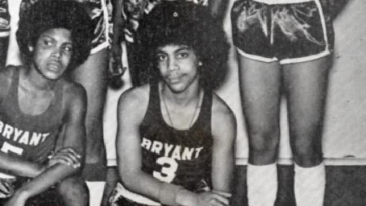 Prince, Bryant Junior High B-Ball Team