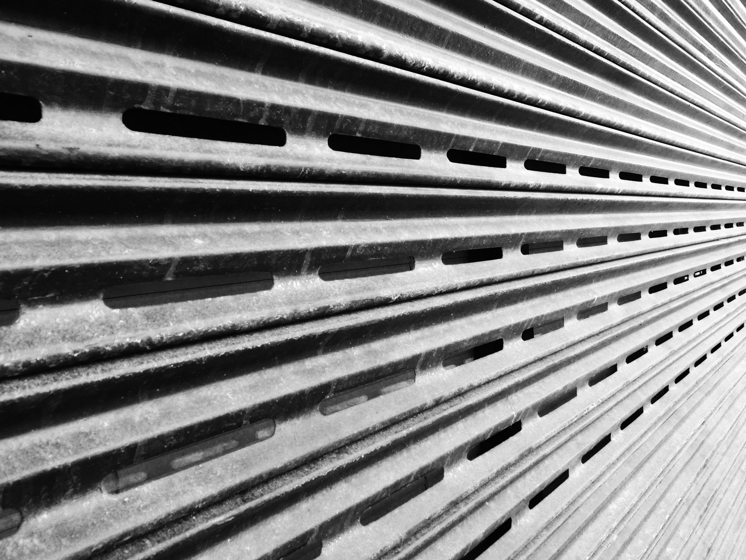 Black and White Abstract Texture Photography