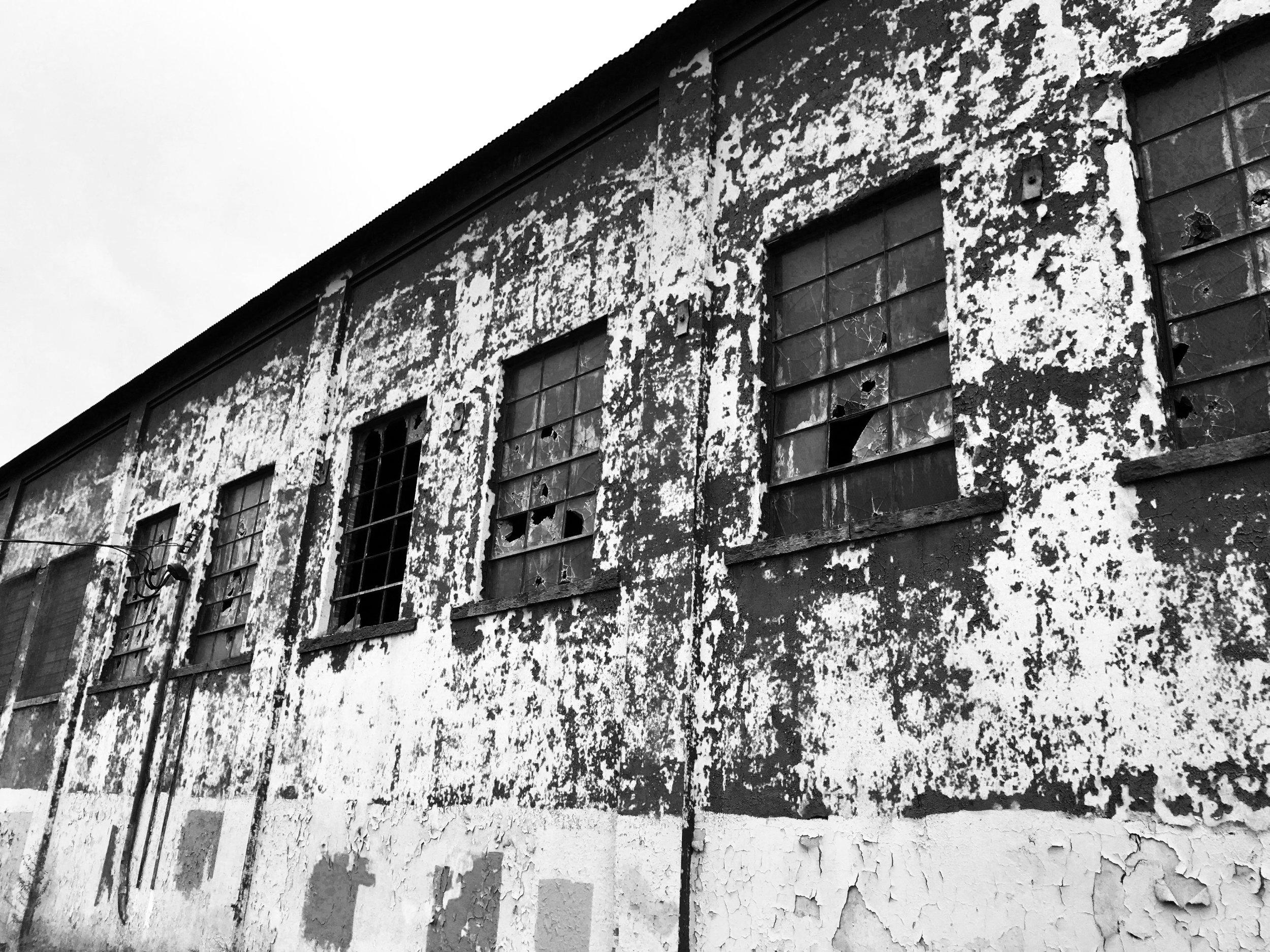 Decrepit building photography